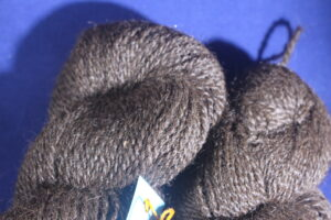 Cody's 3 ply worsted close up