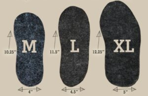 boot inserts sizes