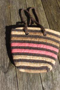 brown and black braid