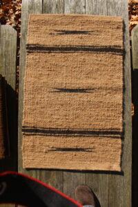 rug 2x3 fawn black