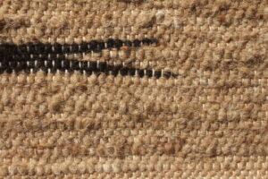 rug 2x3 fawn black closeup