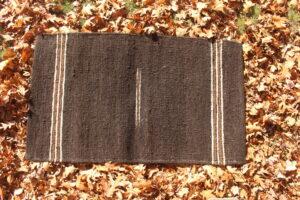 rug 3x5 mocha white brown