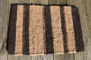 Placemat Fawn & Black stripes