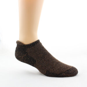 comfy alpaca ankle sock
