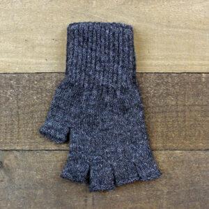 fingerless gloves dark gray
