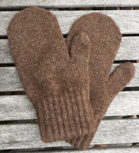 mittens brown
